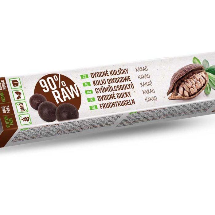 RAW Ovocné guľky – Kakao