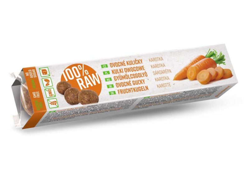 RAW Fruit Balls – Carrot