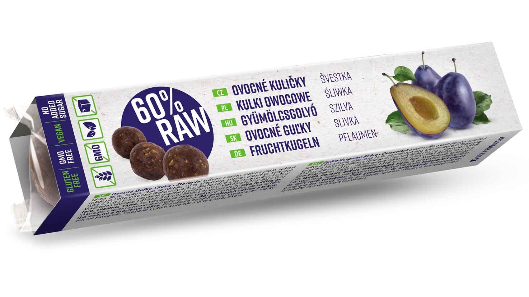 RAW Ovocné guľky – Nová chuť