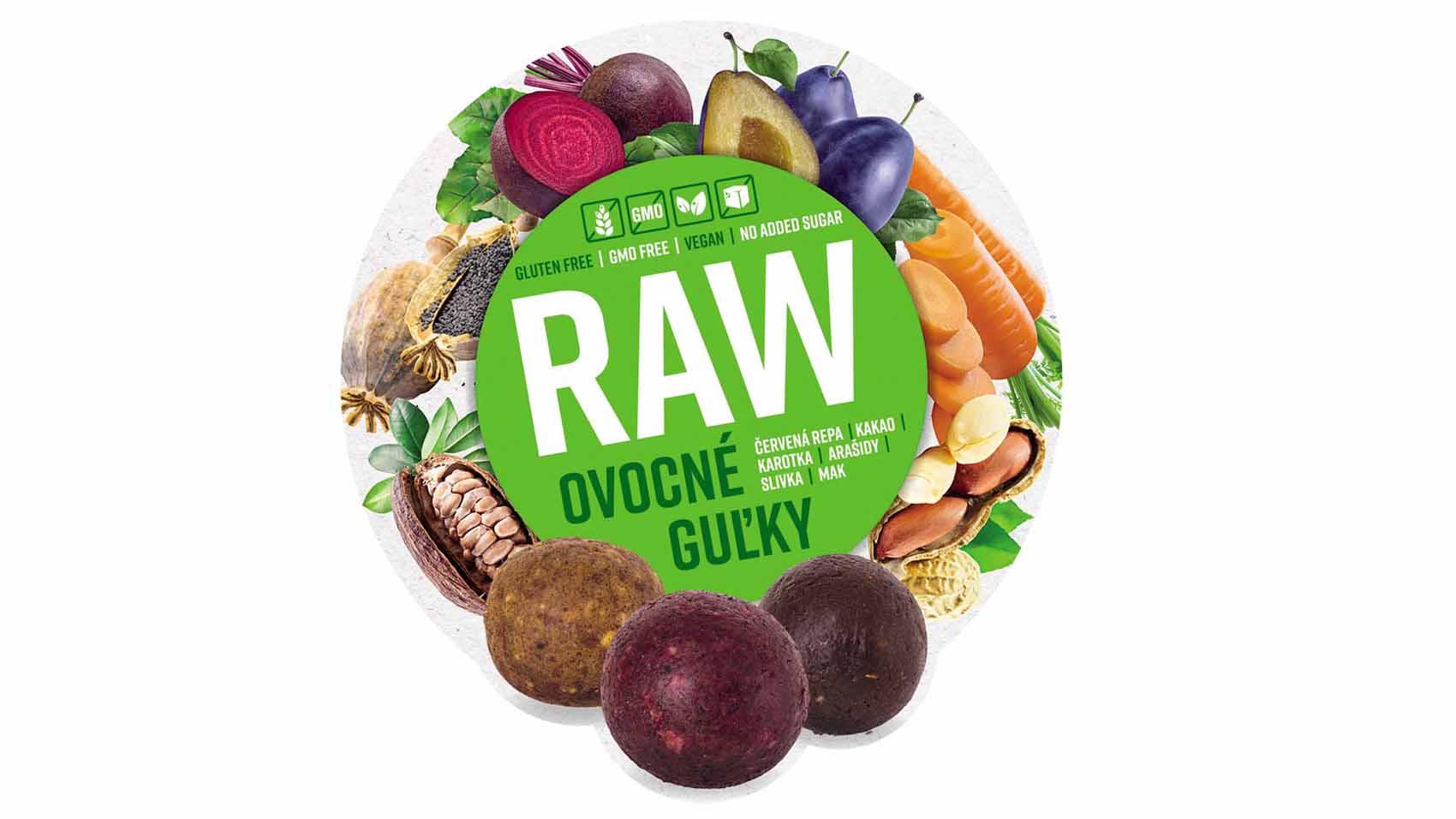 RAW Ovocné guľky – AKCIA