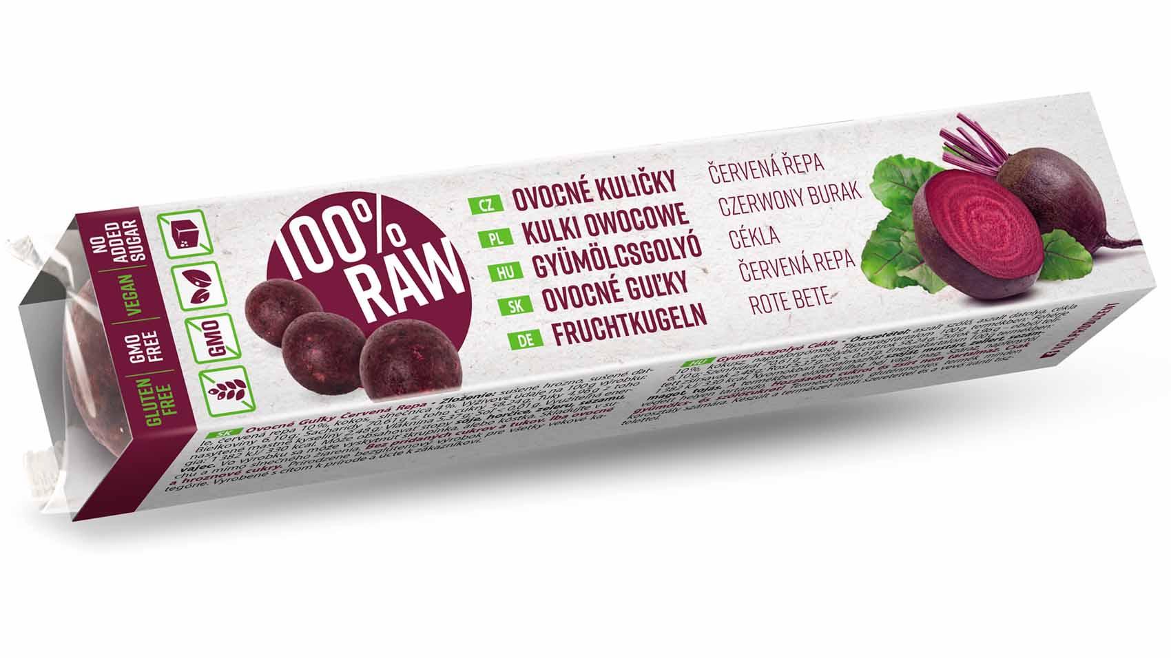 RAW Ovocné guľky – Nový obal
