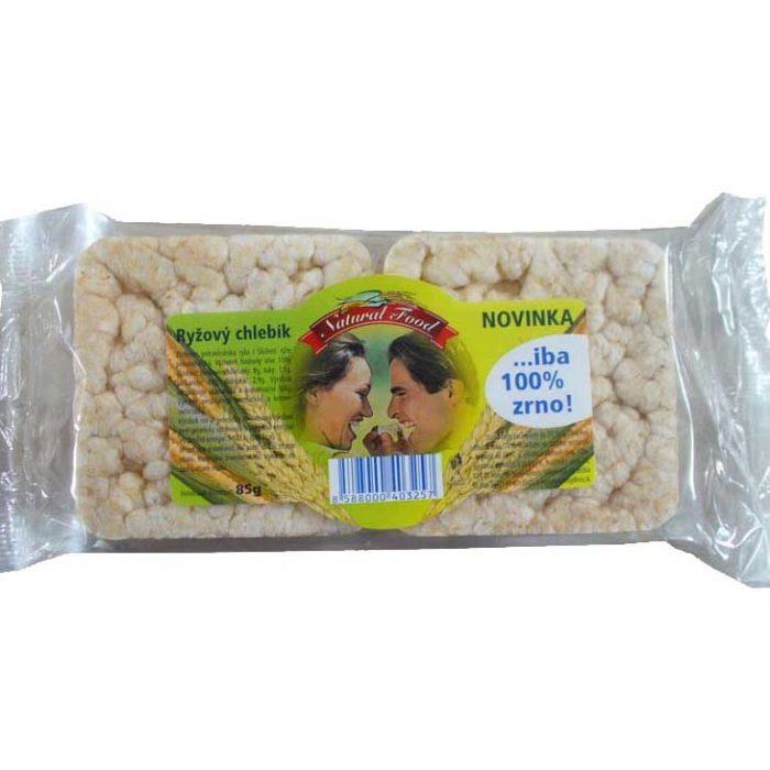 Ryžový chlebík 85g