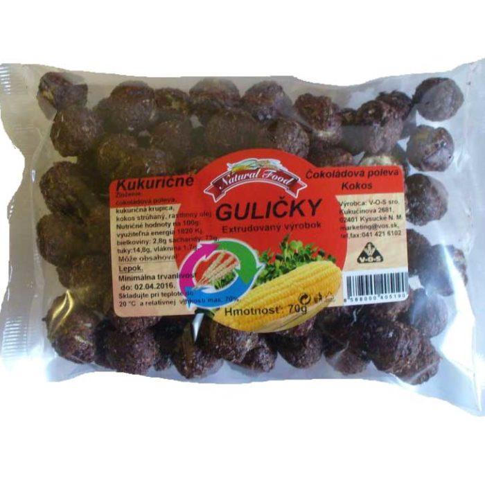 Kukuričné guličky s čokoládovou polevou 70g